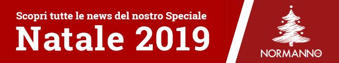 Scopri tutte le news dello Speciale per Natale 2019 di Normanno.com