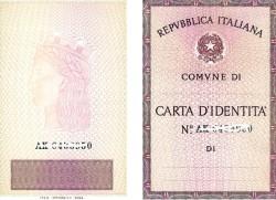 carta identita esterno