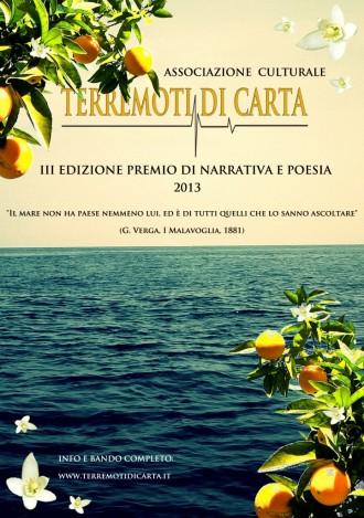 volantino premio letterario 2013 fronte1-721x1024