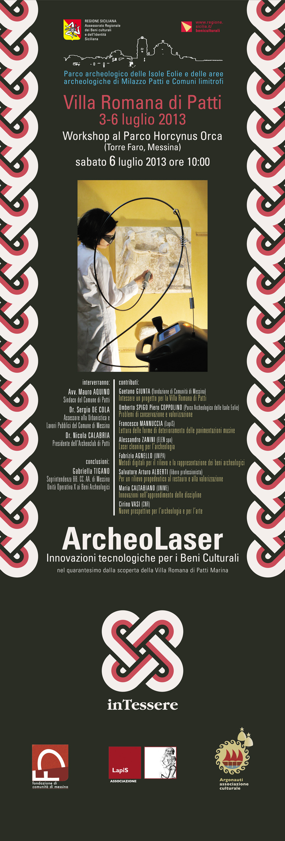 ArcheoLaser locandina