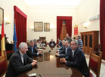 Deputati dal sindaco Accorinti