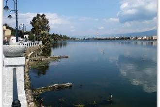 lago ganzirri - intitolazione vie