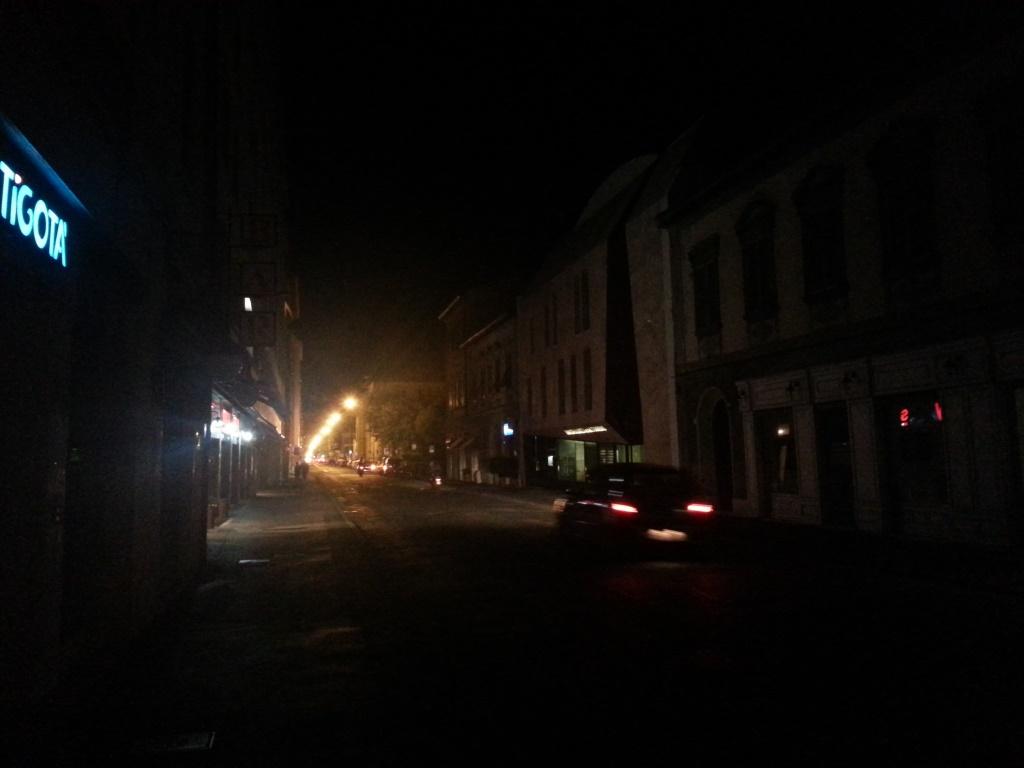 strade buio