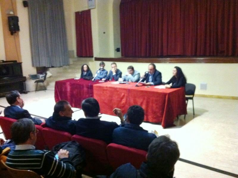 Assemblea provinciale Pd Ridolfo