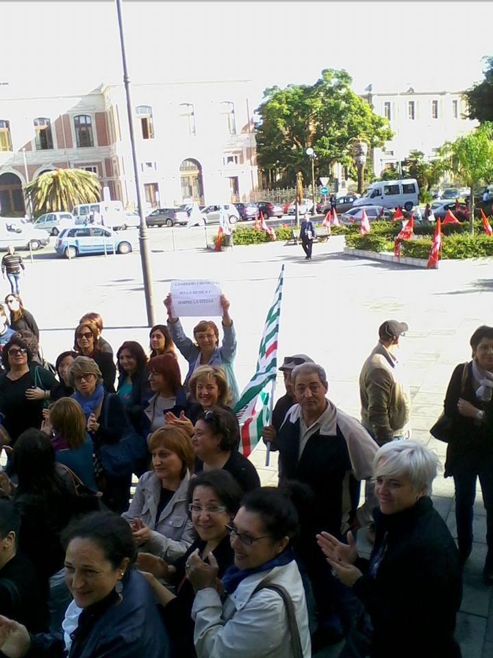 protesta disabili tribunale 3