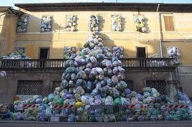 spazzature natalizia