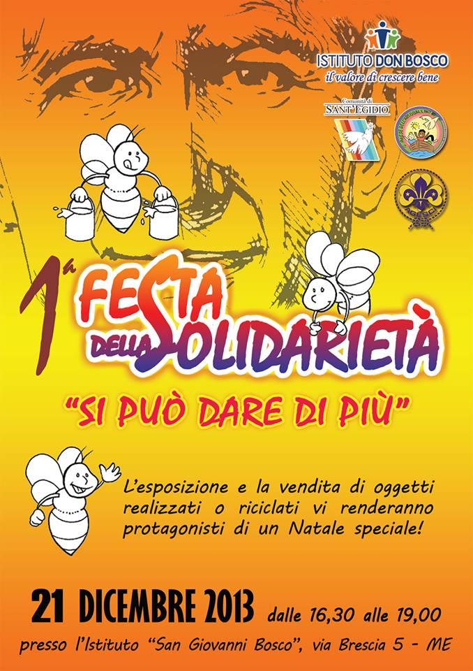 Festa della Solidarietà - locandina