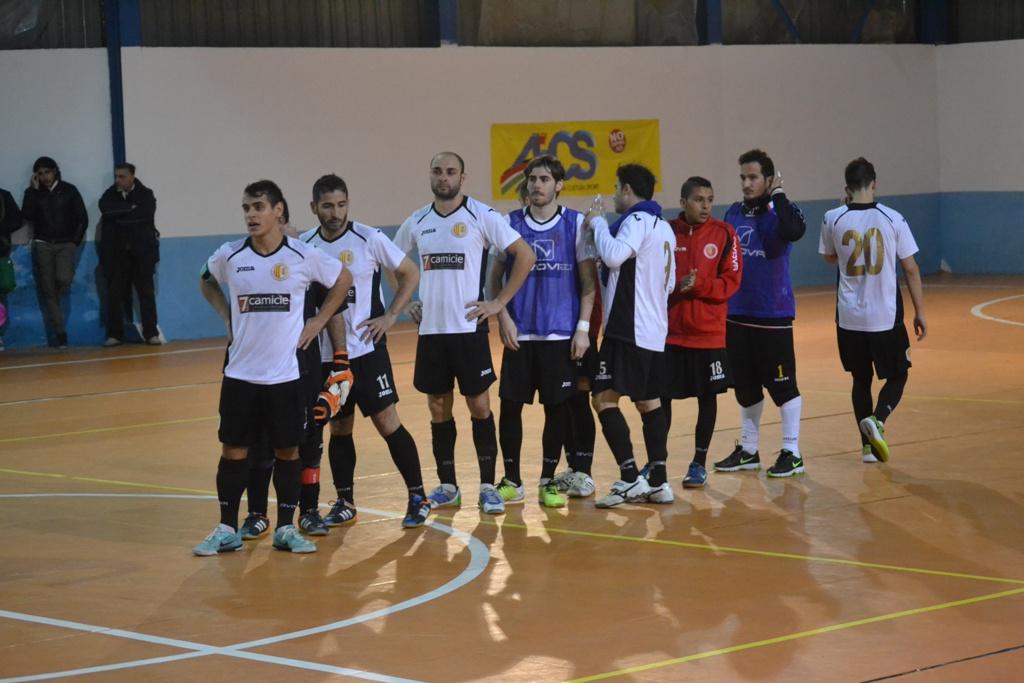 Giocatori Fusal Peloro Messina