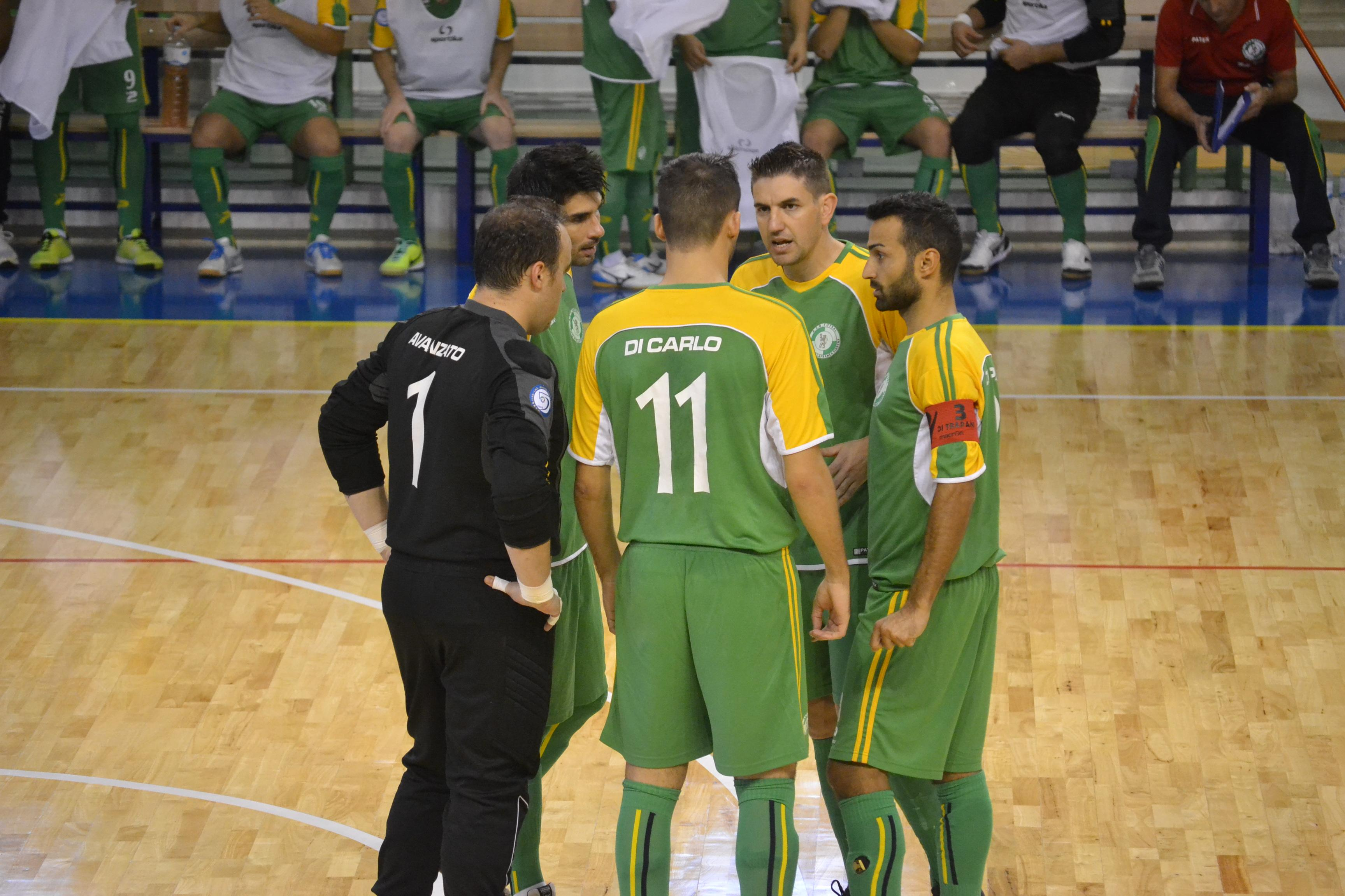 Un quintetto del Città di Villafranca