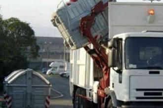 camion spazzatura