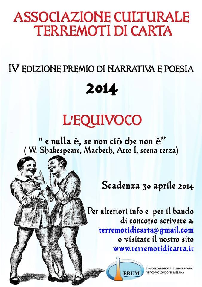 locandina Premio Letterario