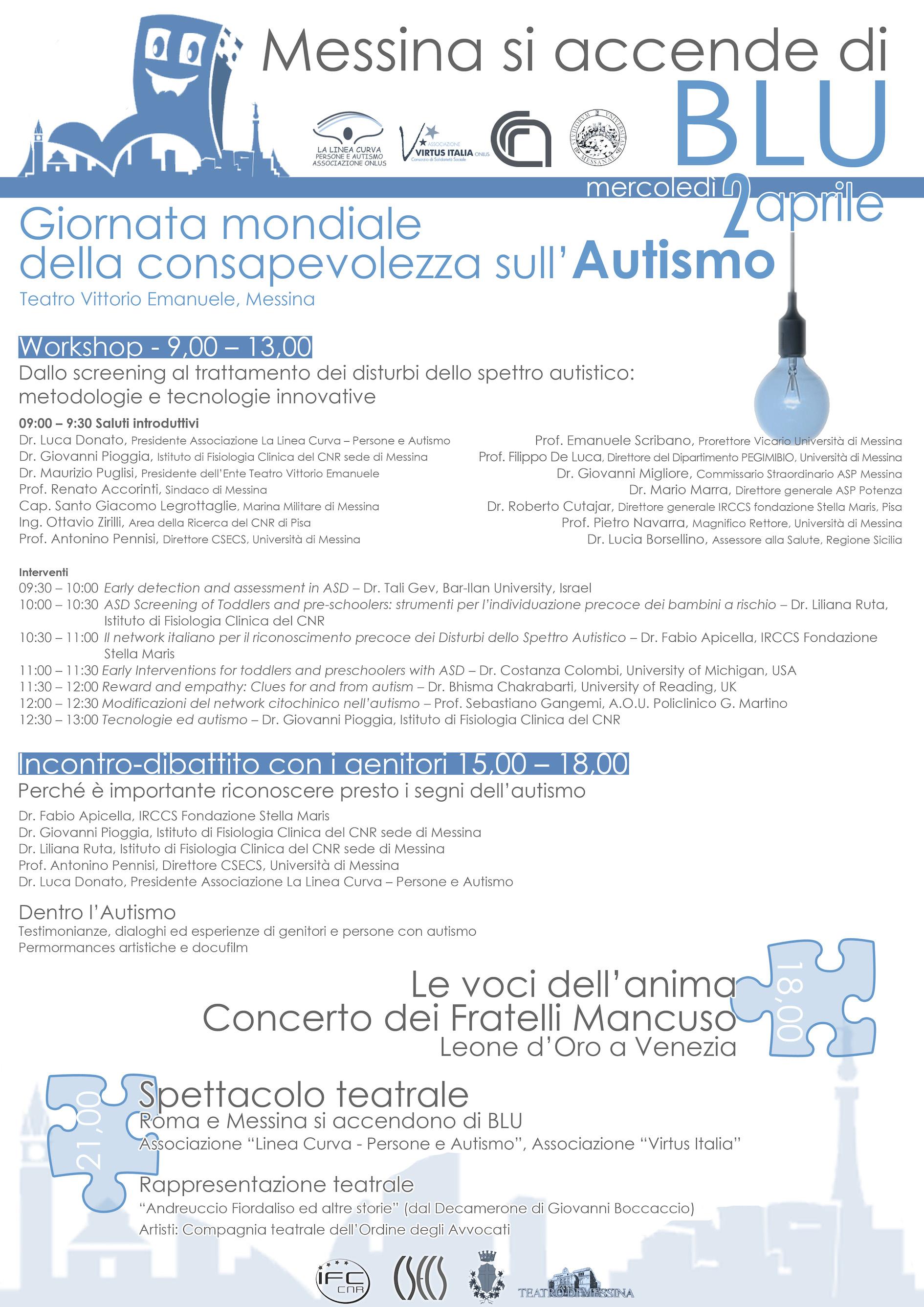 Locandina Messina Blu