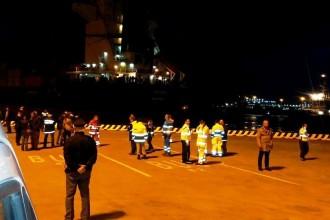 arrivo migranti porto