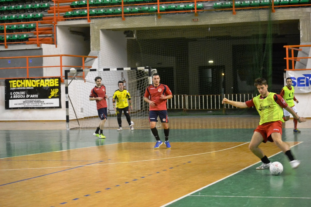 Allenamento Futsal Peloro Messina2