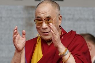 Foto del Dalai Lama - In vista della visita a Messina e Taormina