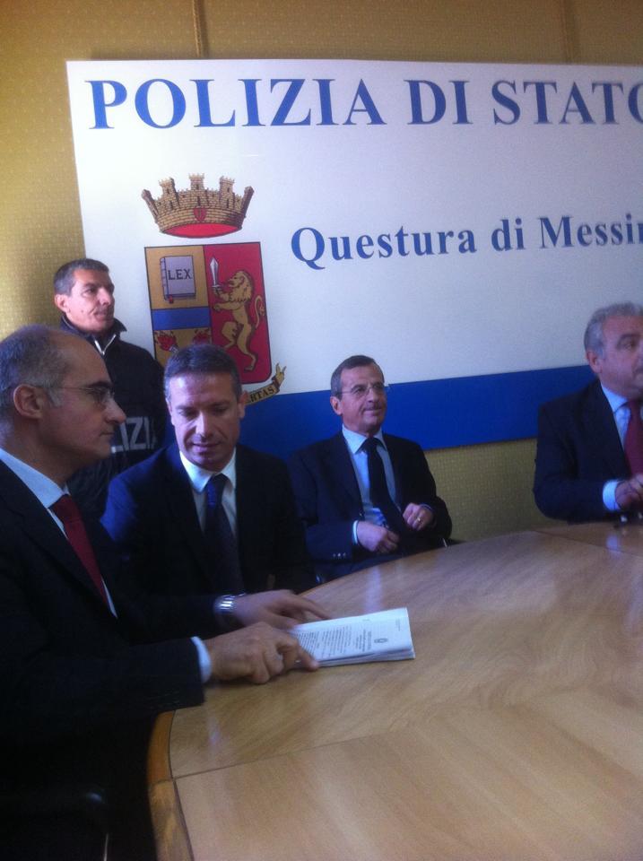 conferenza stampa omicidio marchese