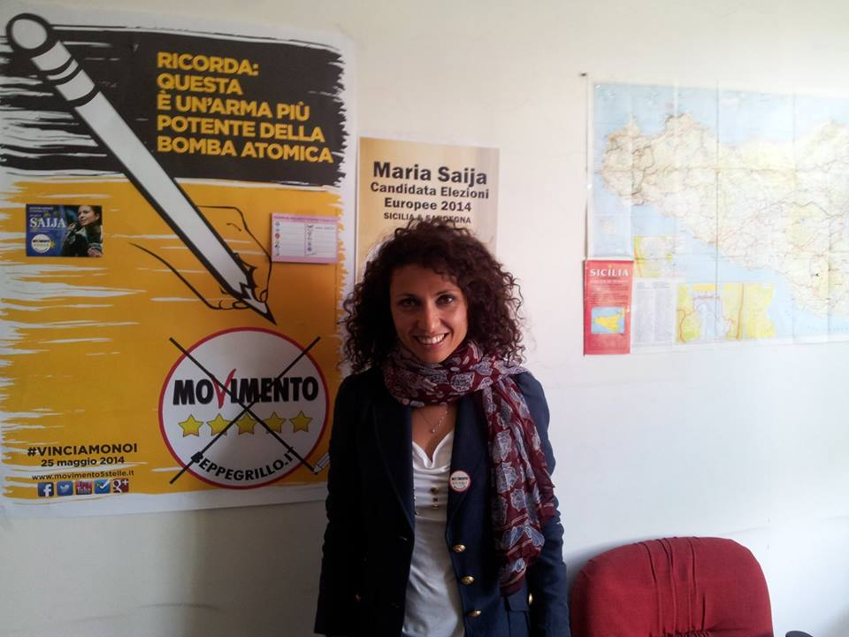 Maria Cristina Saija Europee