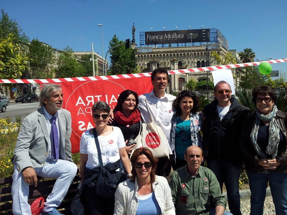flash mob tsipras