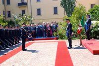 tn carabinieri cerimonia
