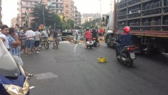 protesta ambulanti