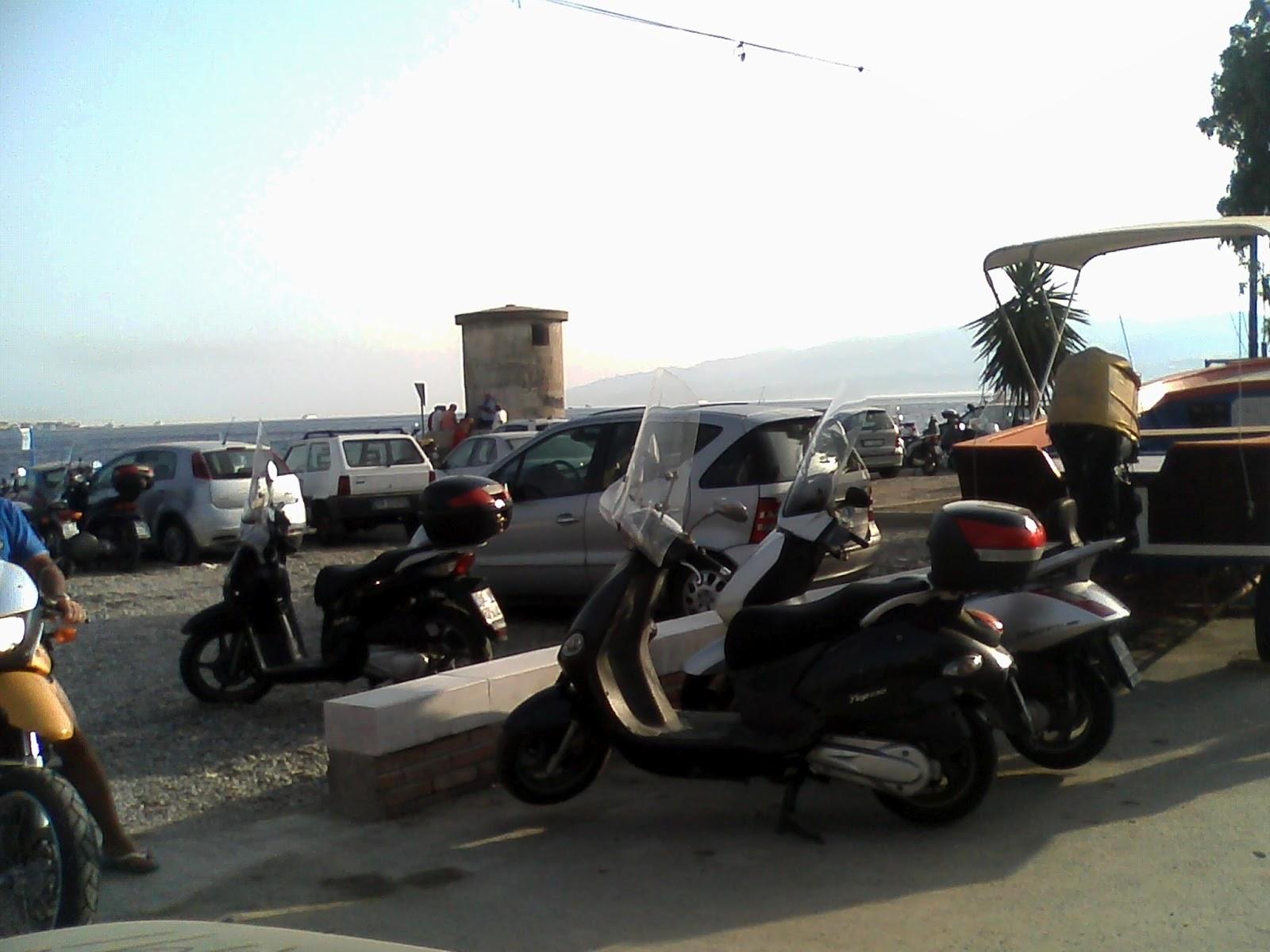 parcheggio torre faro