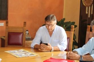 Lo Monaco al tavolo sindaco