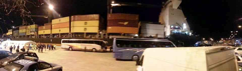 migranti porto colapesce
