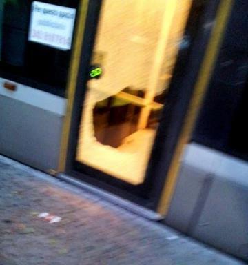 tram vandalismo