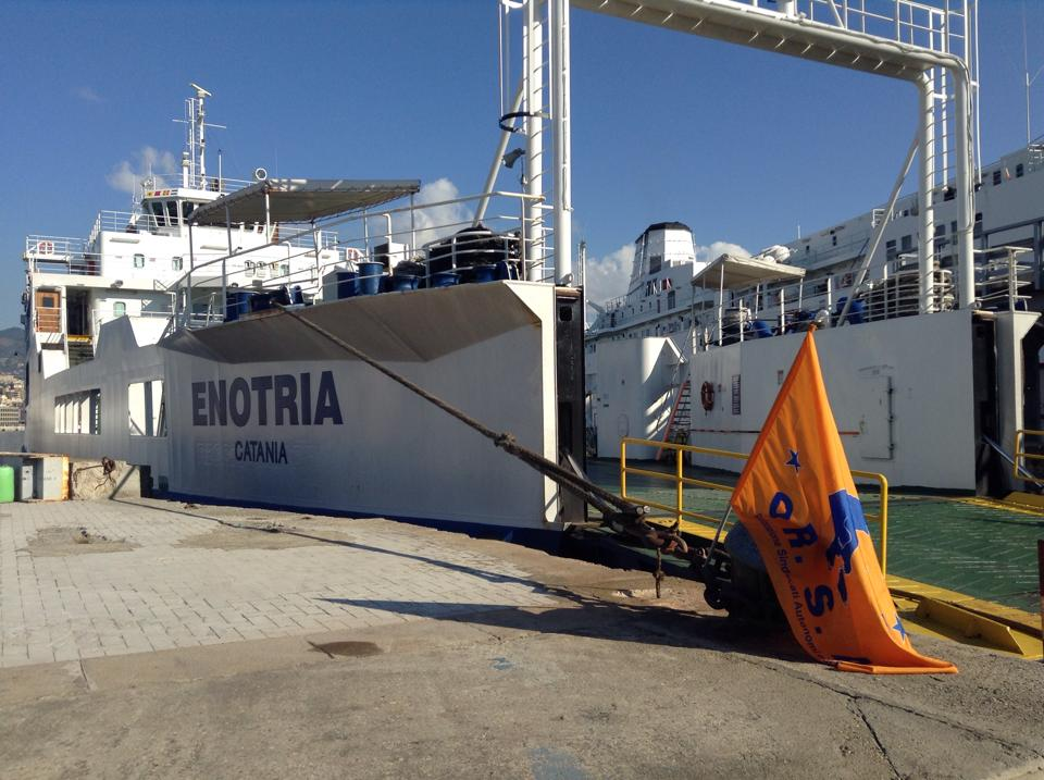 sciopero Bluferries Orsa settembre 2014