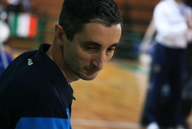 CLAUDIO MANTARRO COACH EFFE VOLLEY S. TERESA