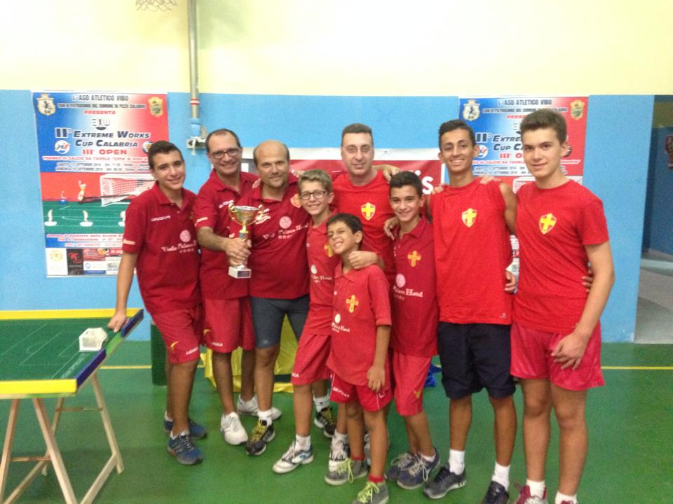 Messina Table Soccer campione