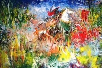 dipinto galleria
