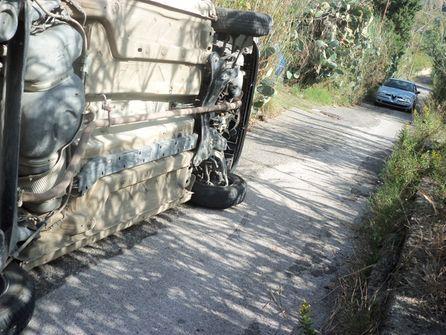 incidenet in Via Giudeo San Saba 001