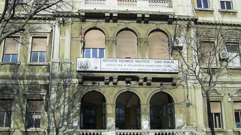 Foto dell'Istituto Nautico di Messina