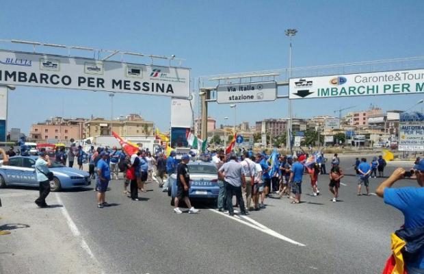 protesta villa