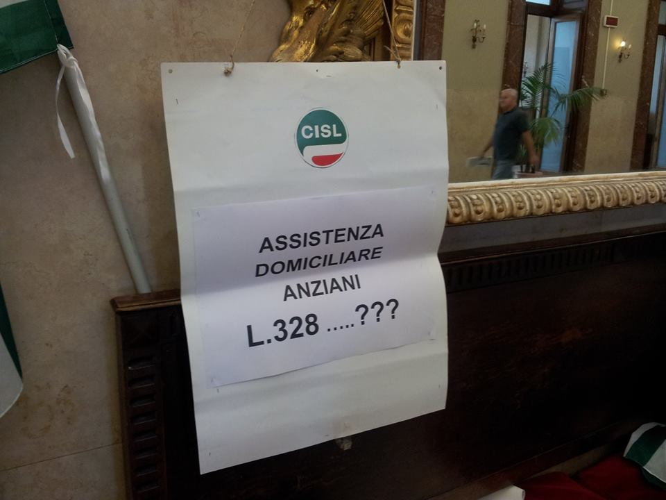 cartello assistenza domiciliare