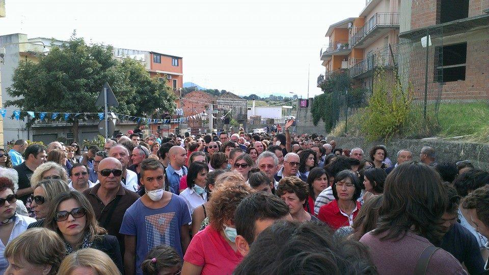 manifestazione raffineria ottobre 2014