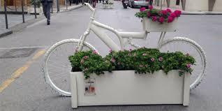bici fioriere