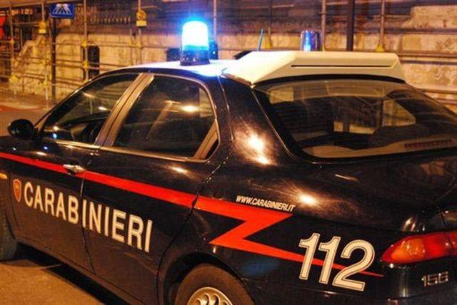 gazzella carabinieri alba notte notturna