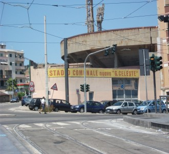 Stadio Giovanni Celeste Entrance