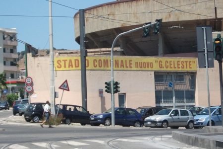Stadio Giovanni Celeste Entrance