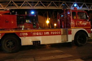 Messina. Fiamme in un bar di via Tommaso Cannizzaro