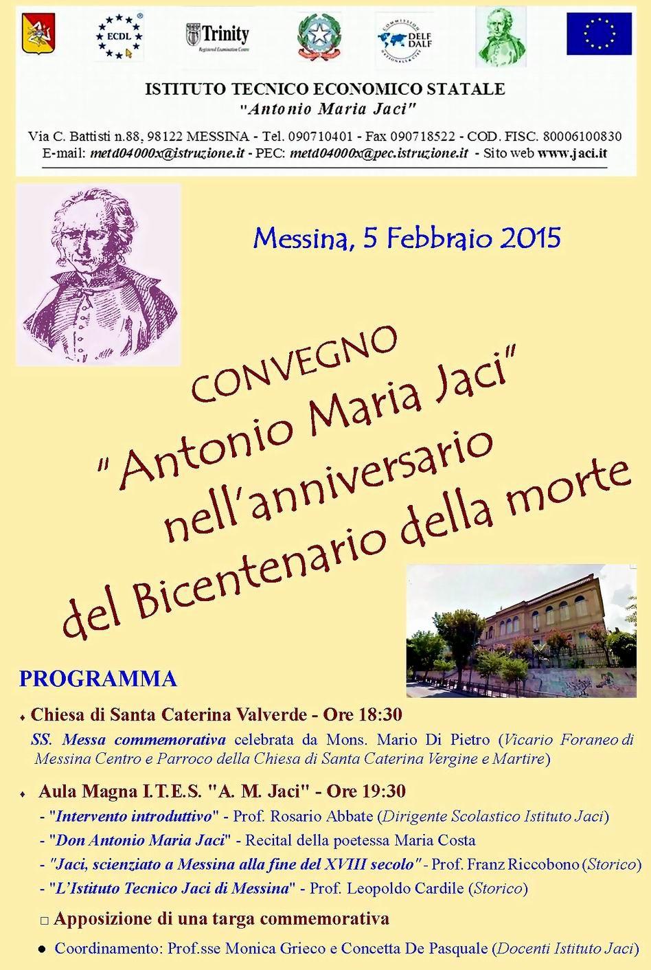 Manifesto Bicentenario A.M. Jaci