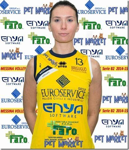 CARNAZZA-Emma messina volley