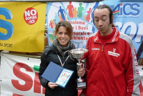 Francesca Colafati e Natale Grosso vincitori CORRITALIA