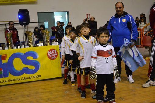 INGRESSO IN CAMPO PICCOLI AMICI SPORTING CLUB MESSINA