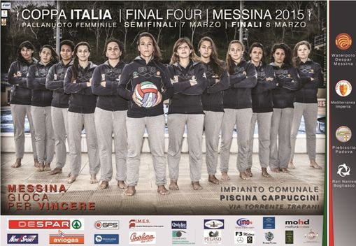 LOCANDINA UFFICIALE waterpolo despar messina final four
