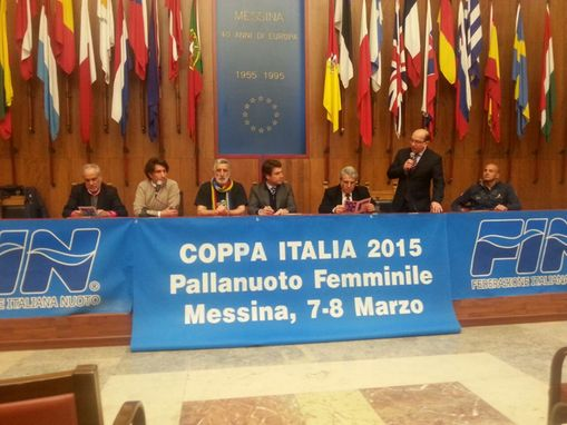 presentazione final four di coppa italia