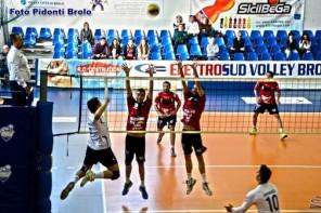 Pallavolo maschile-Serie B1. Dura sconfitta per Brolo contro Civita Castellana