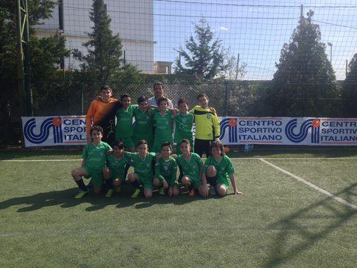 Garden sport Under 12 calcio a 7  1° cl.